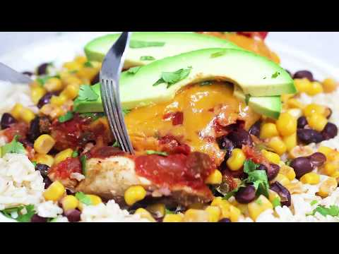 Slow Cooker Salsa Chicken With Black Beans And Corn