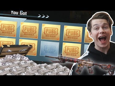 MY BIGGEST CRATE OPENING!! | PUBG Mobile Black Friday