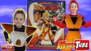 Unboxing del Album Lamincards Dragon Ball Z PLATINUM de Edibas