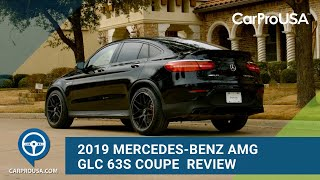 2019 Mercedes-Benz AMG GLC 63S Coupe Is A Sporty High-Powered SUV With A Practical Side