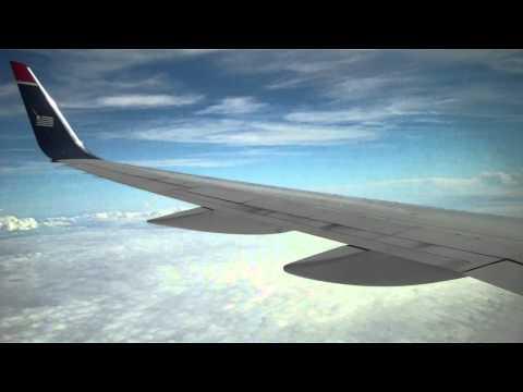 US Airways 757-200 inflight announcement