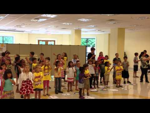 Vatican Express Vacation Bible School Songs Performance 1