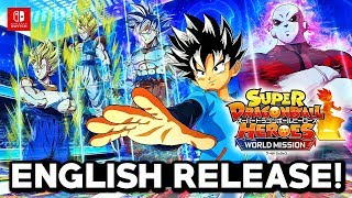 DRAGON BALL HEROES WORLDWIDE & ENGLISH RELEASE! Dragon Ball Heroes World Mission Worldwide Release!