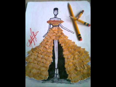 Creative art with pencil shavings youtube for How to make creative drawings