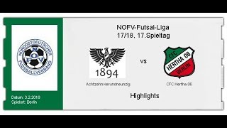 Achtzehnvierundneunzig - CFC Hertha 06 (Highlights)