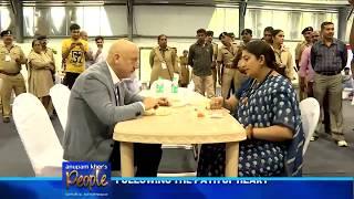 Anupam Kher's 'People' with the charismatic Smriti Zubin Irani