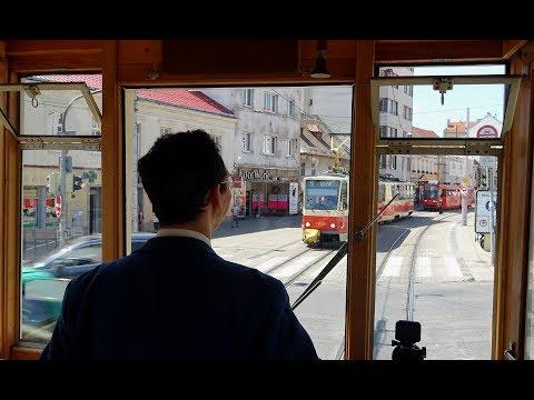 Bratislava Vintage Tram Tour – Driver's Eye View