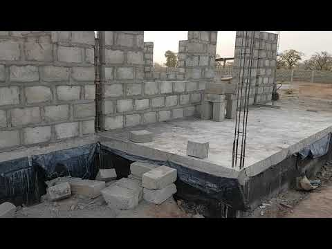 *9* Building In Ghana - Update On 7 Weeks On Site And House Tour
