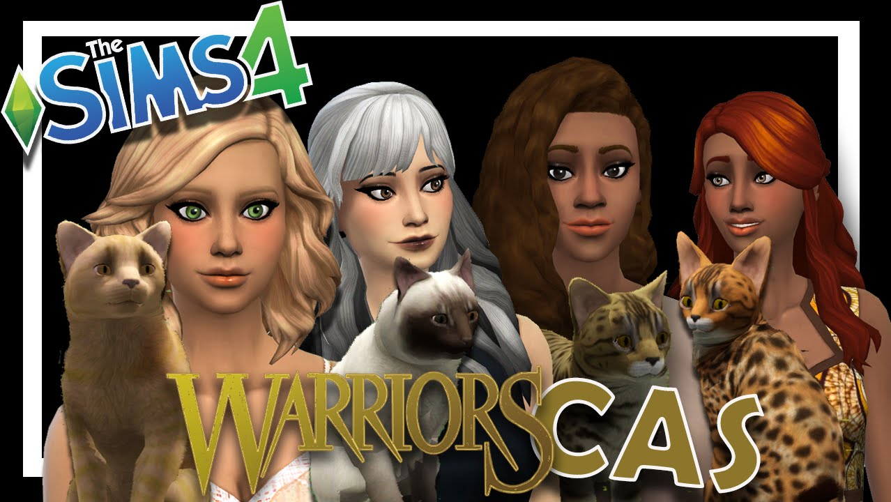 Create-A-Sim: Sims 4  Sims 3 Warrior Cats Conversion  Updates + 500 Subs  Celebration!!