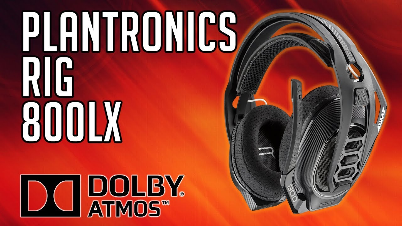 Plantronics RIG 800LX - DOLBY ATMOS Wireless Gaming Headset Review