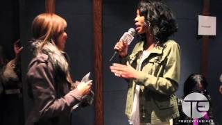 Brandy Interviews Lauren London at