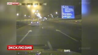 Сотрудники ДПС 43 километра преследовали пьяного лихача на Минском шоссе(, 2015-02-17T17:15:56.000Z)