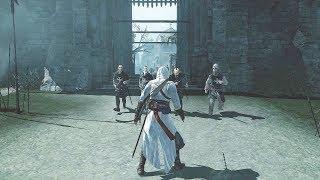 Assassin's Creed 1 Legendary Assassin Altair Combat, Stealth Kills & Free Roam