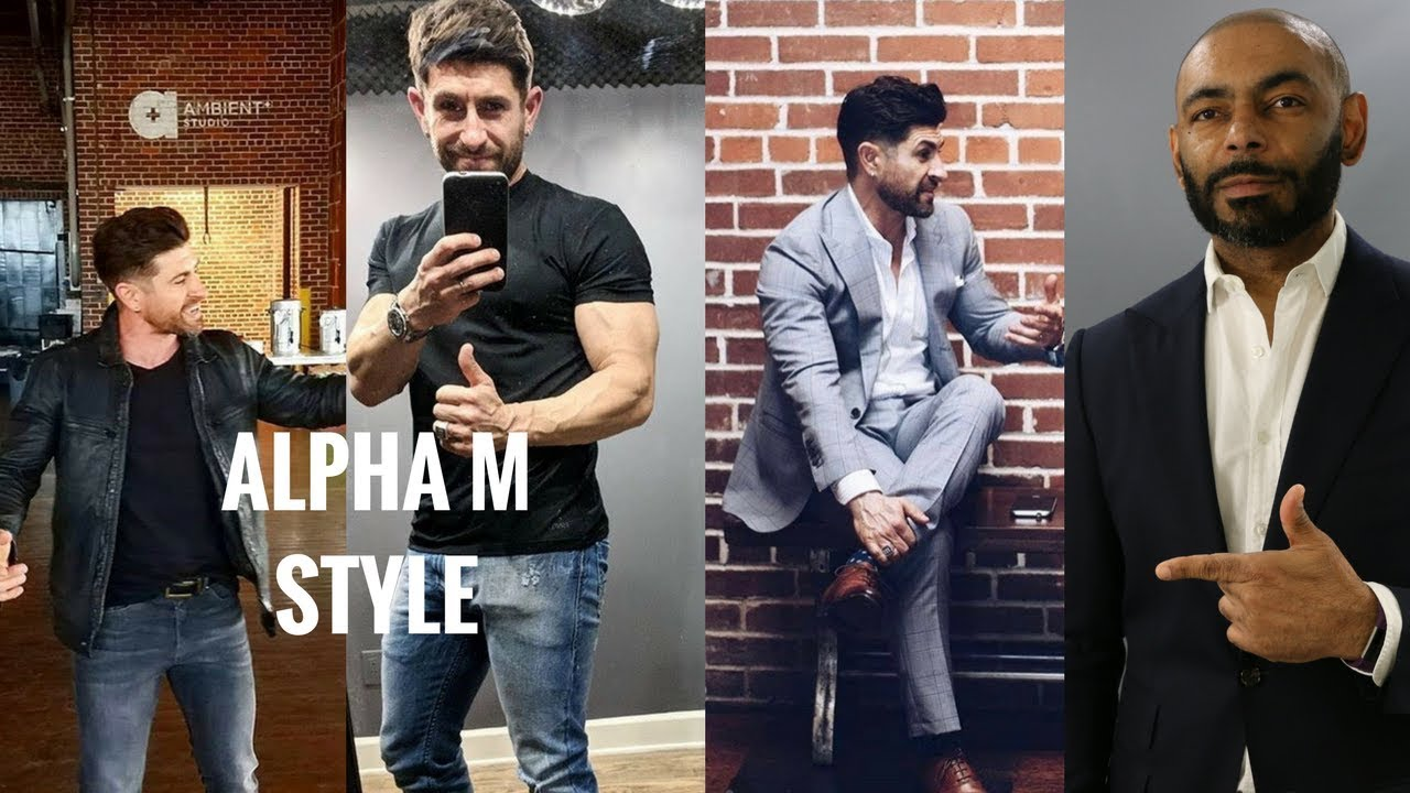 How To Dress Like And Style Break Down Of Aaron From Alpha M