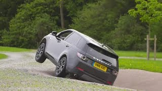 2019 Land Rover Discovery Sport.  Extreme Off-road Test Drive.