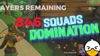 SQUADS DOMINATION - Feat C9Chappie & Mad_ruski (Hunter Gameplay)