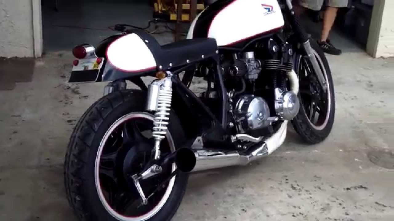bare bone rides custom 1979 honda cb750 cafe racer build (walk