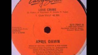 April Dawn - Love Crime (Club Vocal)