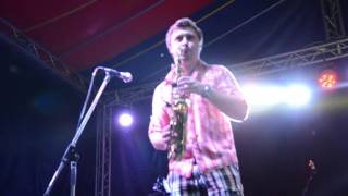 Green City Fest Saxobeat & DJ Strateg (Anatolii Shorin & Oleg Stratiychuk)
