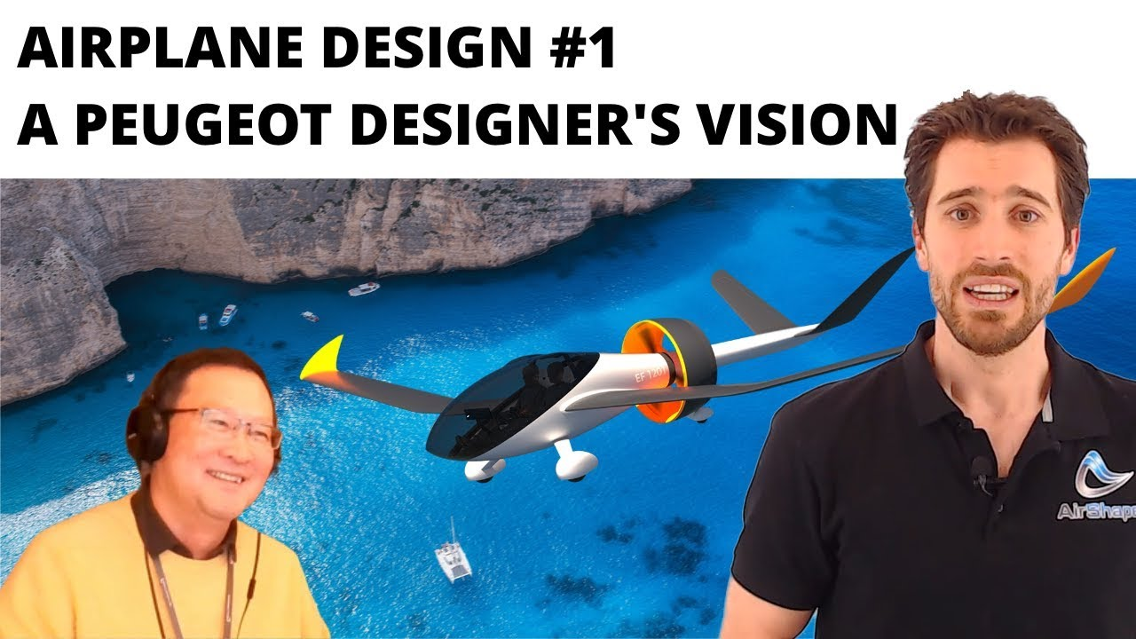Airplane design #1 - A Peugeot Designer's Vision