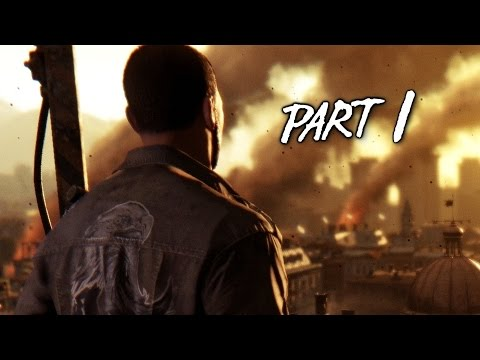 Dying Light Walkthrough Gameplay Part 1 - Awakening - Campaign Mission 1 (PS4 Xbox One)