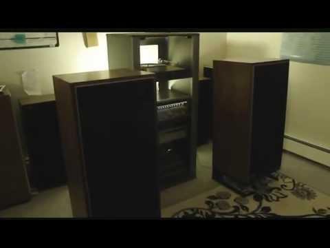 My vintage hi-fi set-up! (w/ high quality sound recording)