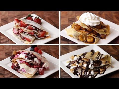 Download Youtube: Crepes 4 Ways