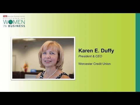 WBJ 2017 OWIB Honoree - Karen Duffy, Worcester Credit Union