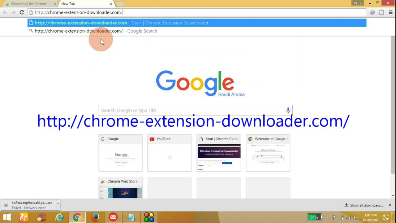video downloader all - chrome web store
