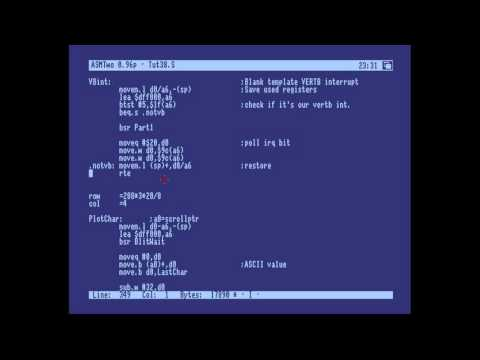 Amiga Hardware Programming 38 - Structure, The Stack, and In