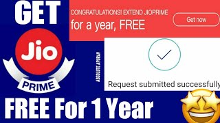 Get Reliance Jio Prime Membership Free For 1 Year [2018-2019]   Jio new offer for all Jio Customer!!