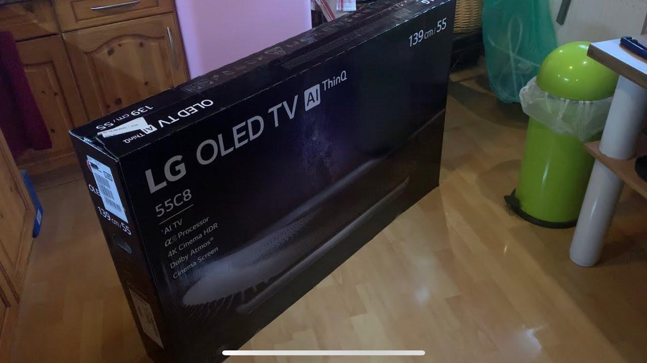 LG OLED TV AI ThinQ 55C8 OLED55C8PLA 55