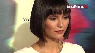 Nina Dobrev arrives at 'Flatliners' Los Angeles film premiere