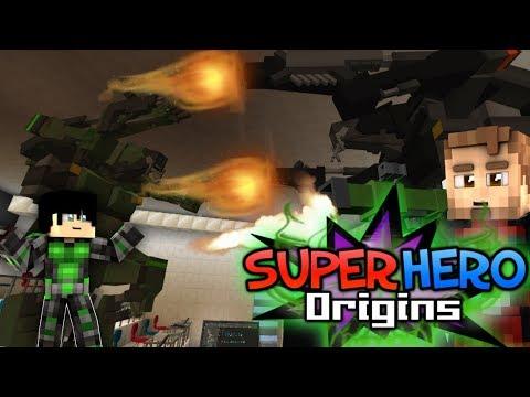 A FIGHT IN CLASS! Minecraft Super Hero Origins #12 (Modded Minecraft Roleplay)