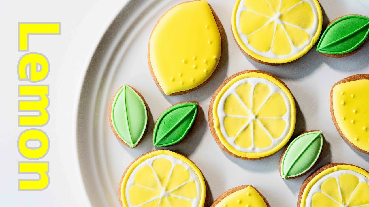 元気が出るレモンクッキー アイシングクッキーの作り方