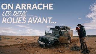 37: On CRASH notre 4X4 dans le désert Marocain!