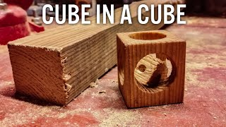How to make cube in a cube