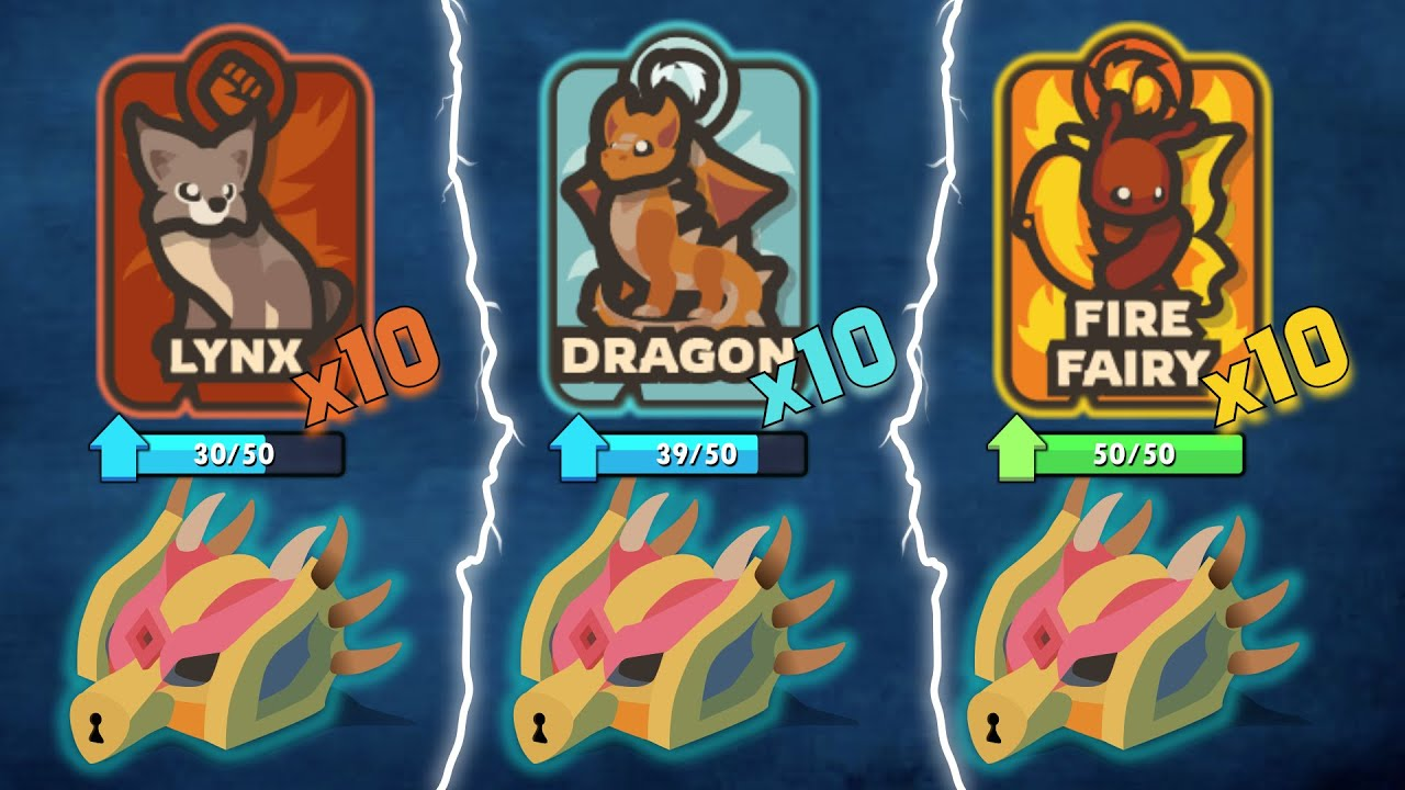 Download taming.io HOW TO UNLOCK ALL PET CARDS