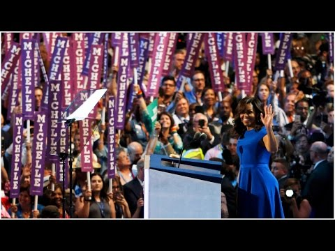 Highlights of Michelle Obama's speech at...
