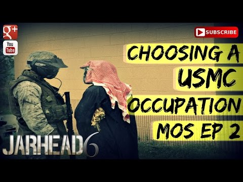 Choosing a USMC Occupation (MOS)