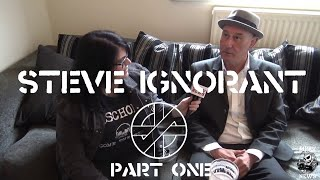 Steve Ignorant - CRASS - Interview & Live Footage  May 2017  (Part 1 of 2) - MPRV News