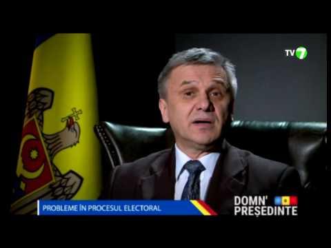 DOMN' PREȘEDINTE: Propunerea lui Alexandru Tănase