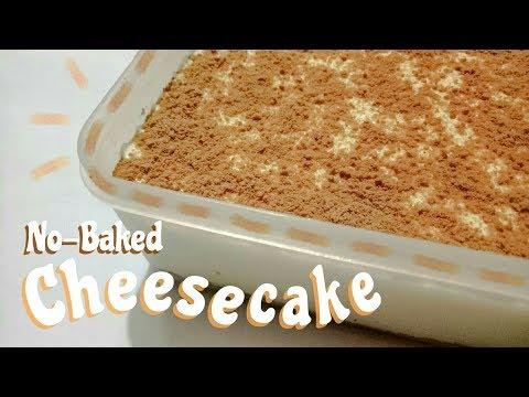 No-Bake Cheesecake (Pinoy Ingredients)
