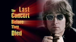 The Last Concert Before They Died   Rock Legends