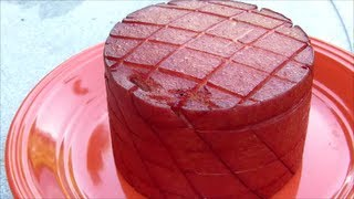 Smoked Bologna - Apple Wood Smoked Beef Bologna - How to Smoke Bologna
