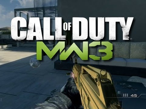MW3 - Death Chat Trolling And Funny Moments #4 (Riot Shield Surprise!)