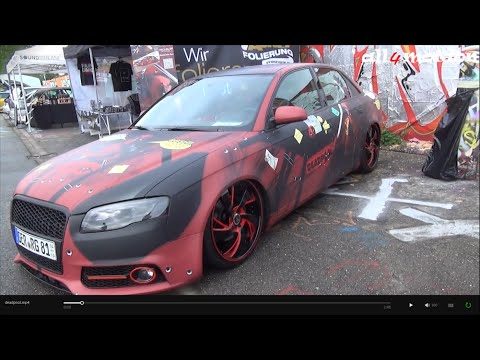 audi a4 deadpool edition walkaround interior vag freak show karlsruhe youtube. Black Bedroom Furniture Sets. Home Design Ideas
