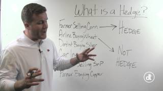 Grain Marketing Strategies:  What is a Hedge?