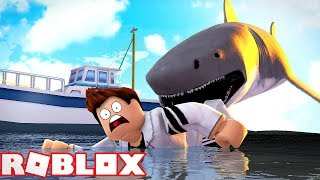 XXXXXXL MEGALODON HAI ATTACK SURVIVAL IN ROBLOX