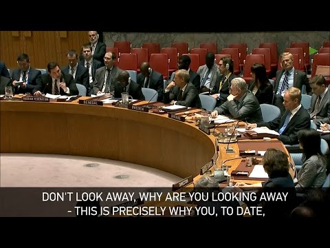 'Look at me when I'm speaking' - Russia to UK at UN meeting